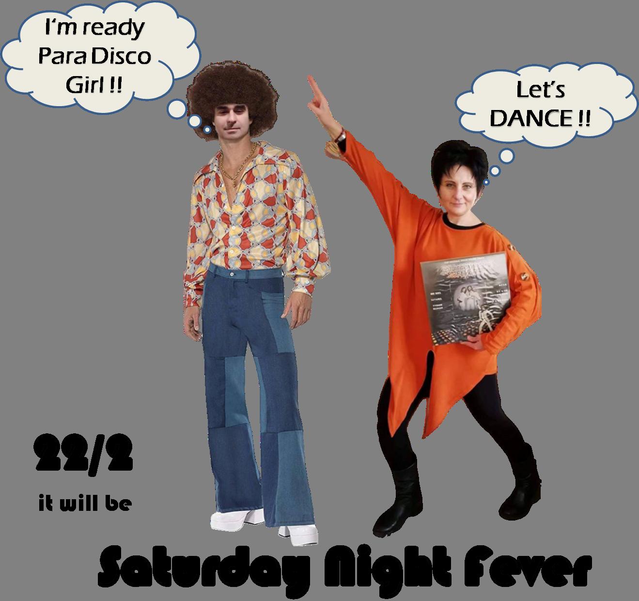 Let's Dance ParaDISCO girl w-o Background
